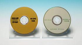 Прототипы HD DVD-R дисков от Hitachi Maxell и Verbatim