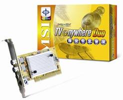 PCI ТВ-тюнер MSI TV@nywhere DUO