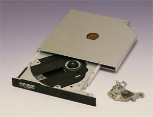 Привод HD-DVD Toshiba для ноутбуков
