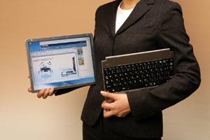 Ноутбук с отделяемым дисплеем