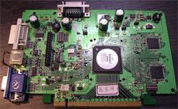 Прототип платы XGI Volari 8300