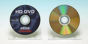 Два многослойных HD DVD-ROM диска от Toshiba