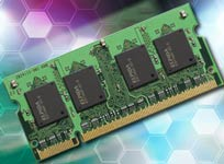 SO-DIMM от Elpida Memory. На 30% экономнее в потреблении тока