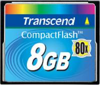 Type I CompactFlash Card, 80X speed 8 ГБ
