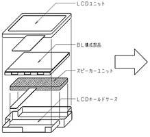 Блок-схема дисплея с динамиками