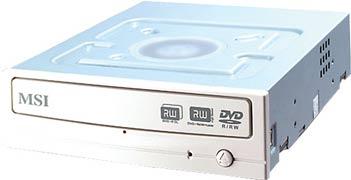 DR16-B3. Новый DVD±RW привод MSI
