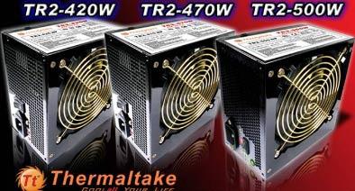 Три новых источника питания ATX от TR2 (второй бренд Thermaltake)