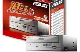Asus DRW-1608P2S. Теперь и с поддержкой перезаписи носителей DVD-RAM