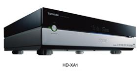 Toshiba HD-XA1 - первый коммерческий HD DVD плеер пошел в розницу