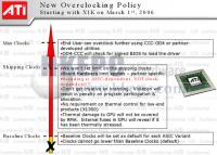 Новая политика ATI по овеклокингу ее чипов