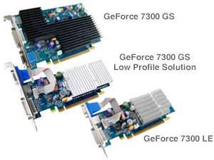 Бесшумные GeForce 7300 от Sparkle
