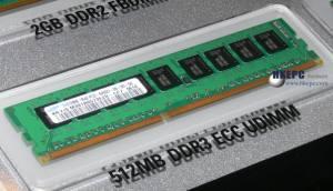 512 МБ DDR3-800 Unregistered DIMM от Samsung