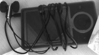 Первое фото рабочего образца медиаплеера Microsoft Zune