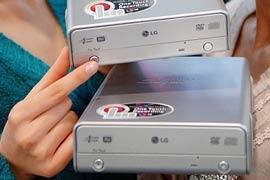 Привод LG с аппаратным режимом автономной записи видео