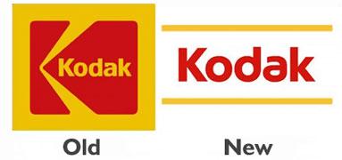 Цифровые шрифты в моде. Новый логотип Kodak