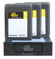 Quantum GoVault. Один док с SATA-интерфейсом, много HDD-картриджей.