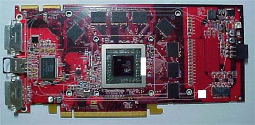 Плата на процессоре ATI