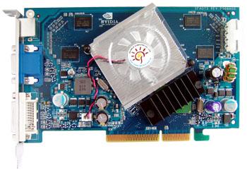 GeForce 7600 AGP от Sparkle