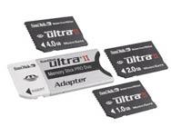 4-ГБ Ultra II Memory Stick PRO Duo
