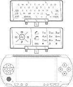 Клавиатура, телефон и PSP