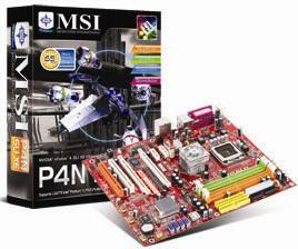 MSI P4N SLI XE