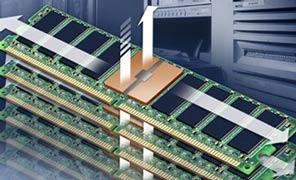 FB-DIMM: чипы DRAM и контроллер памяти общаются через буфер