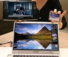 Ноутбук и UMPC от Samsung теперь с твёрдотельными дисками