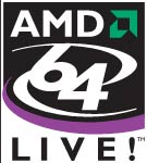 Логотип платформы AMD LIVE! PC