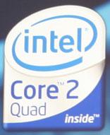 Логотип грядущих четырёхъядерных настольных процессоров Intel