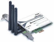 D-Link DWA-556. Карта 802.11n для пустующих слотов PCIe x1