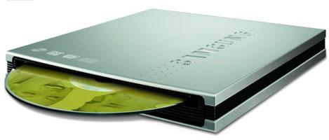 Samsung SE-T084L: тонкий, без БП и рисует на дисках
