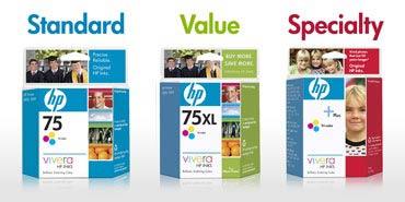 Стандартный, экономичный, специальный... HP делит картриджи на три целевые группы