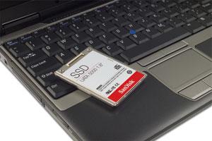 Dell Latitude D420 теперь и с флэш-винчестером