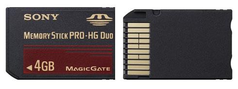 Memory Stick PRO-HG