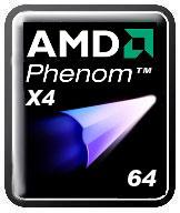 Логотип AMD Phenom X4. Ждём комету?