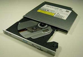 Panasonic Blu-ray Disc. Высота – 9.5 мм.