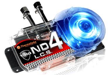 Thermaltake TMG ND4 – комбинированный водно-воздушный блок для NVIDIA GeForce 8800 GTX
