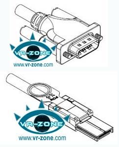 Разъёмы для кабеля PCIe x1 (вверху), x4