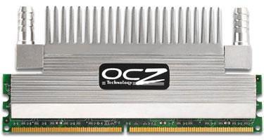 OCZ PC2-6400 CL3 с гибридной системой охлаждения