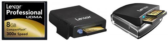 Lexar анонсирует: 8-ГБ CompactFlash и пару скоростных карт-ридеров