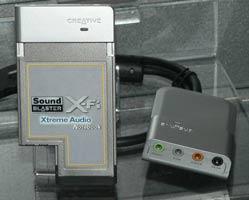 X-Fi Extreme Audio Notebook
