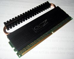 Flexpipe - память с охлаждением на тепловых трубках. OCZ зажига... охлаждает!