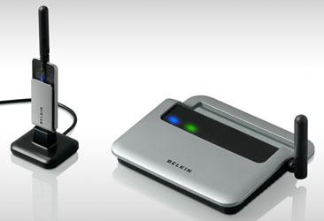 Belkin Wireless USB: 480 Мбит/с по воздуху