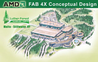 Завод Fab 4X – проект 300-мм фабрики компании AMD в США