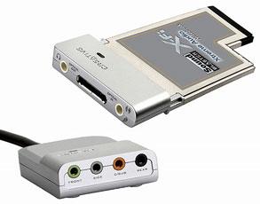 Sound Blaster X-Fi Xtreme Audio Notebook