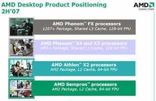 Новые бренды процессоров AMD на второе полугодие