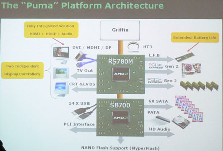 Грифон на Пуме – AMD грозит Intel Centrino