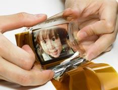 Гибкий OLED-дисплей от Sony