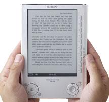 Sony PRS-505. Электронные документы в формате книги.
