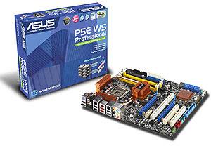 ASUS P5E WS. Всё о чём можно мечтать плюс PCI-X.
